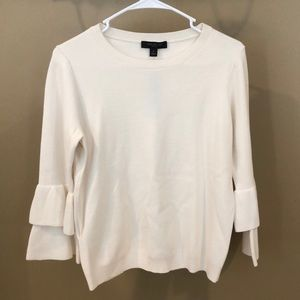 BRAND NEW White Anne Taylor Sweater